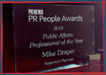 2019 PR News Public Affairs Professional of the Year